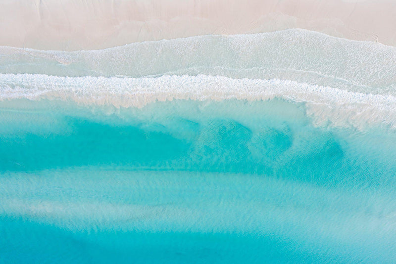 The crystal clear waters of Western Australia's