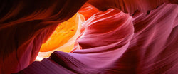 A photograph of antelope canyon in page arizona.