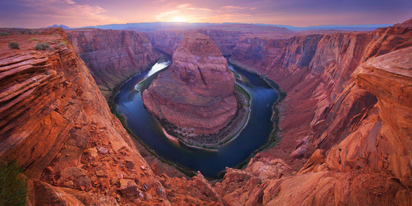Horseshoe bend in Page, Arizona. By Lijah Hanley.