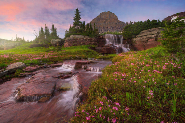Logans pass in glacier national park. By Lijah Hanley.
