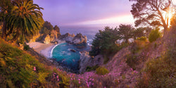 Julia Pfeiffer burns state park in Big Sur, California. By Lijah Hanley.