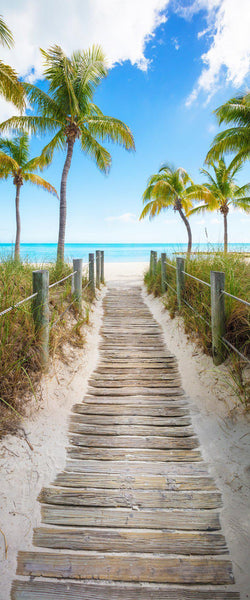 A perfect path to the beach in Key West