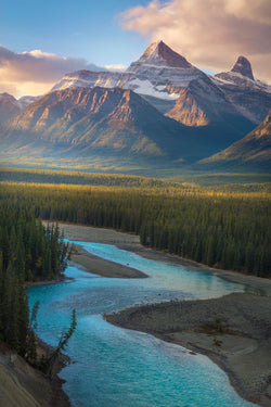 Mountains in Jasper National Park, Canada