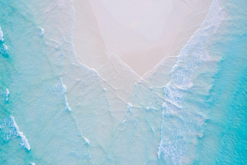 An Arial of Wedge island in western Australia