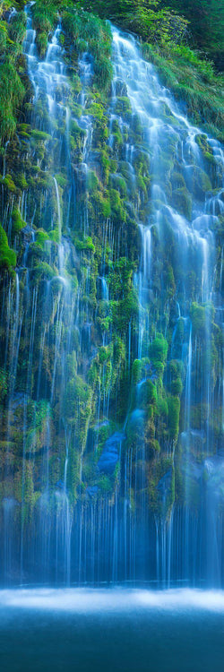 Mossbrae falls in dunsmuir, california. By Lijah Hanley.