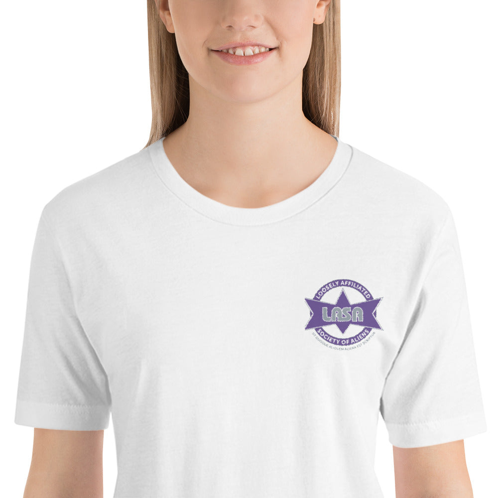 LASA Embroidered  Short-Sleeve Unisex T-Shirt