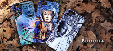 Buddha and Zen Art Phone Cases by Da Vinci Case