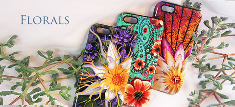 Floral and Paisley Art Phone Case Collection by Da Vinci Case