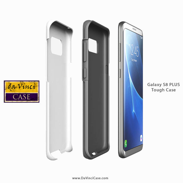 Da Vinci case Galaxy S8 PLUS Tough Case Construction