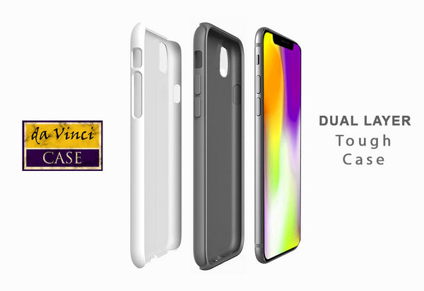 Light of Truth - Pastel Buddha iPhone 12 / 12 Pro / 12 Pro Max / 12 Mini Tough Case Tough Case - Dual Layer Protection for Apple iPhone XI - Buddhist Case