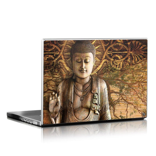 Intentional Bliss - Brown Buddha Laptop Vinyl Skin Decal - Laptop Skin Decal - 1