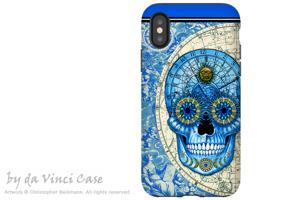 Astrological Skull - iPhone X / XS / XS Max / XR Tough Case - Dual Layer Protection for Apple iPhone 10 - Astrologiskull