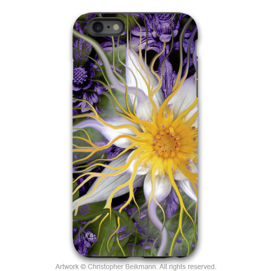 Artistic iPhone 6 6s Plus TOUGH Case - Bali Dream Flower - Lotus Flower Art Case for iPhone 6Plus - iPhone 6 6s Plus Tough Case - 1