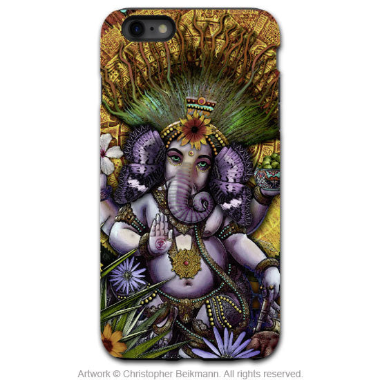 "Ganesha iPhone 6 6s Plus TOUGH Case - ""Ganesha Maya"" Artistic Case for iPhone 6 6s Plus"