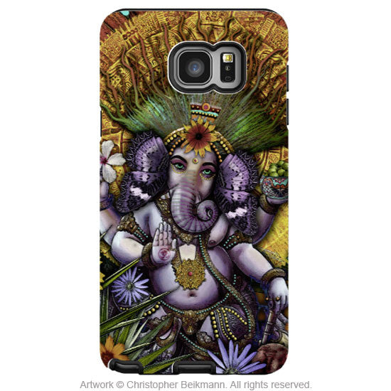 Ganesha Samsung Galaxy NOTE 5 Case - Colorful Hindu-Mexican Floral Case - Ganesha Maya