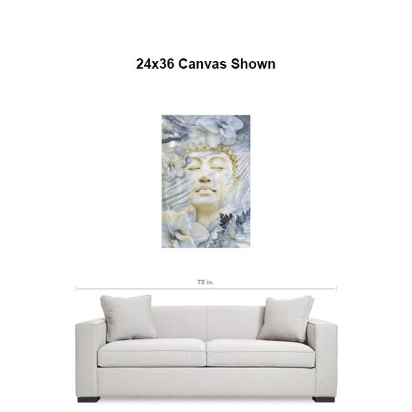 Ethereal Zen Buddha Art Canvas - Inner Infinity - Premium Canvas Gallery Wrap - Fusion Idol Arts - New Mexico Artist Christopher Beikmann