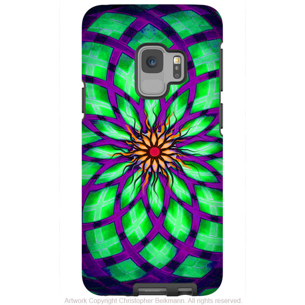Kalotuscope - Galaxy S9 / S9 Plus / Note 9 Tough Case - Dual Layer Protection for Samsung S9 - Premium Art Case