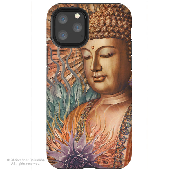 Proliferation of Peace Buddha - iPhone 11 / 11 Pro / 11 Pro Max Tough Case - Dual Layer Protection for Apple iPhone XI - Buddhist Art Case
