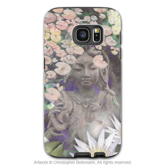 Buddhist Goddess Galaxy S7 Edge Tough Case - Reflections - Pastel Kwan Yin Galaxy S7 Edge Tough Case - Galaxy S7 EDGE TOUGH Case - 1