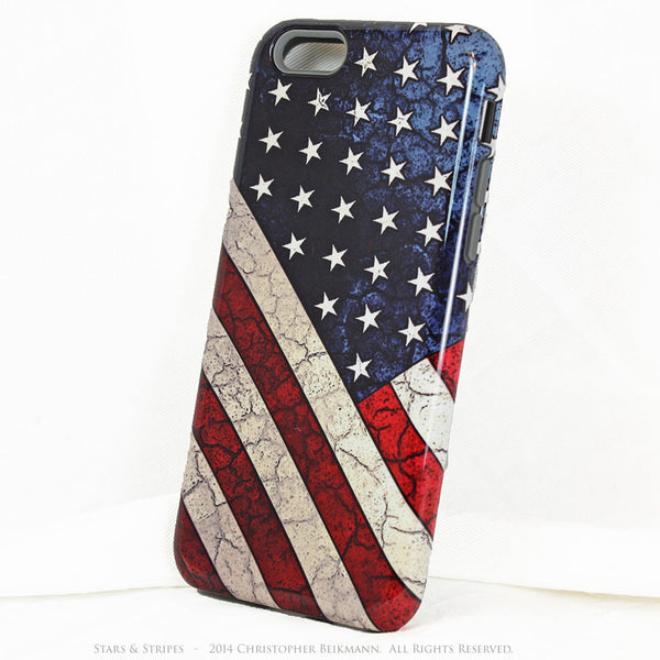 American Flag iPhone 6 6s Plus TOUGH Case - Stars & Stripes - USA  Artistic Case for iPhone 6 6s Plus - iPhone 6 6s Plus Tough Case - 2