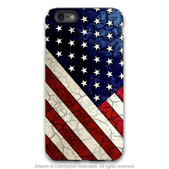 American Flag iPhone 6 6s Plus TOUGH Case - Stars & Stripes - USA  Artistic Case for iPhone 6 6s Plus - iPhone 6 6s Plus Tough Case - 1