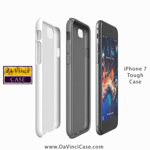 Apple iPhone 7 Tough Case - Dual Layer Protection - iPhone 7 Tough Case by Da Vinci case
