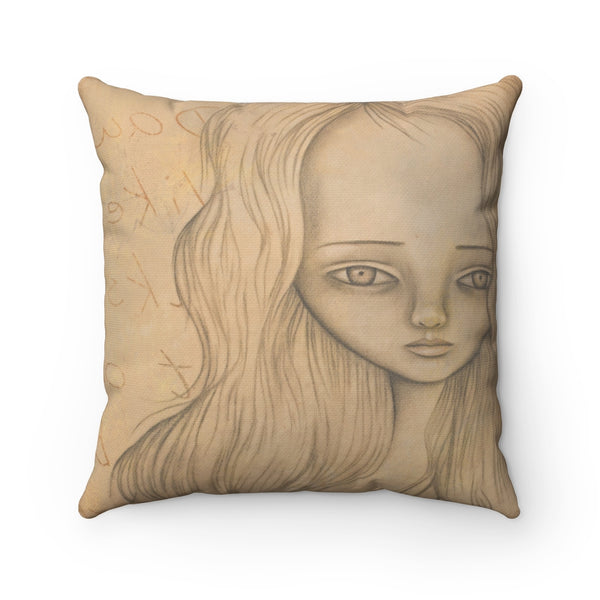 Ms. M Throw Pillow