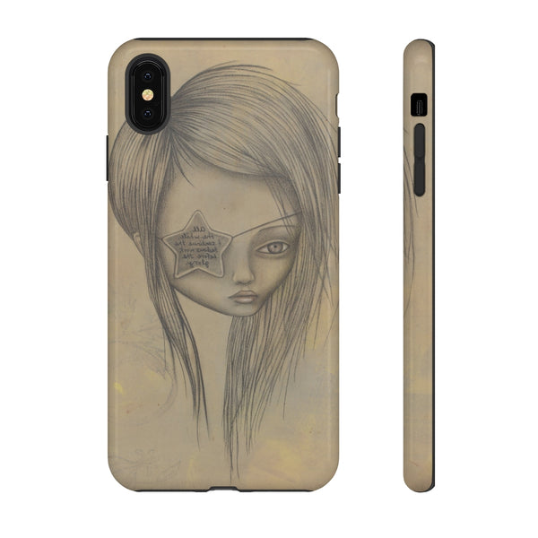 """Ms. L"" Tough Phone Case for iPhone and Galaxy"
