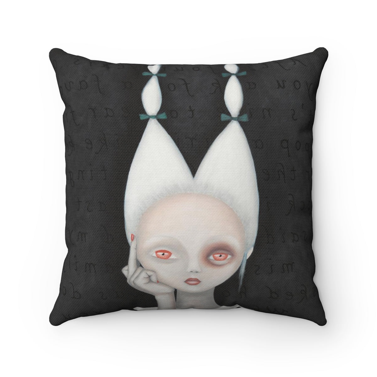 Silly Wabbit Throw Pillow