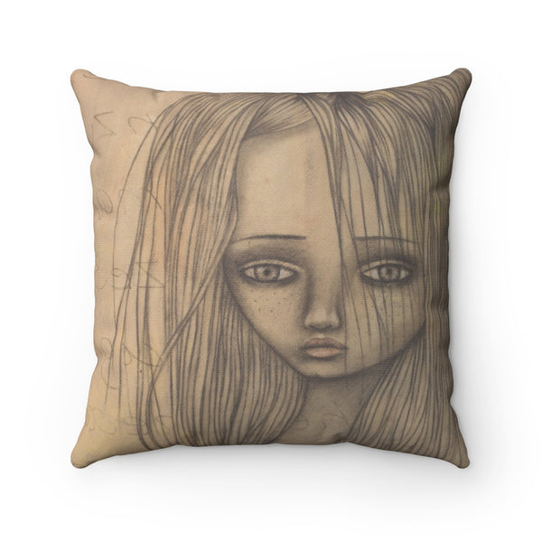 Ms. Q Throw Pillow