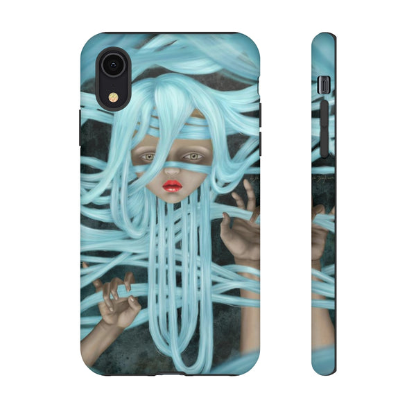 """Angelica"" Tough Phone Case for iPhone and Galaxy"