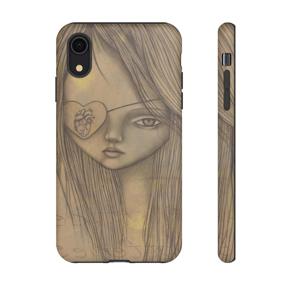 """Ms. Take"" Tough Phone Case for iPhone and Galaxy"