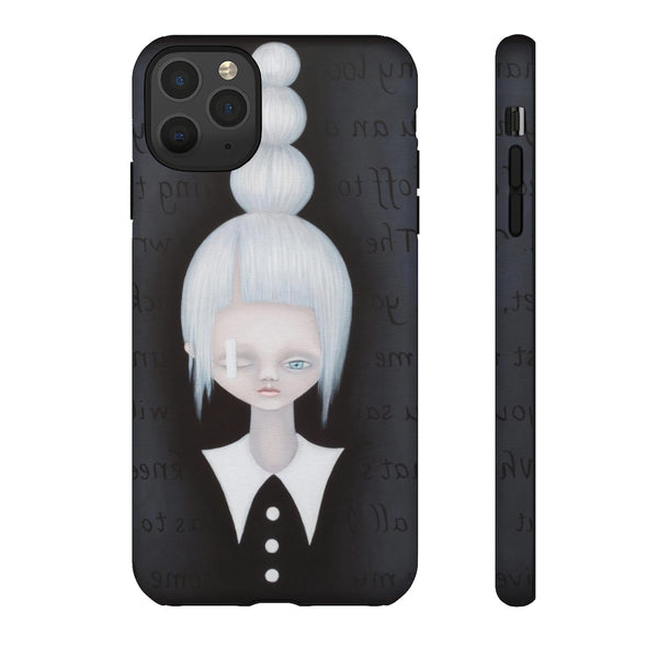 """Hana"" Tough Phone Case for iPhone and Galaxy"