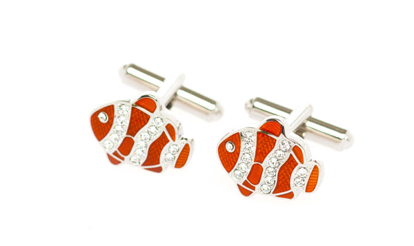 Nemo Orange Cufflinks