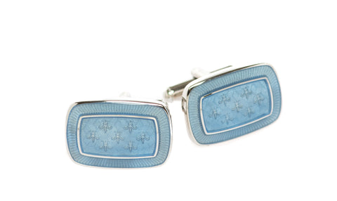 Normandy Blue Cufflinks