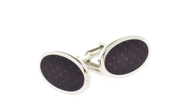 Aix Black Cufflinks