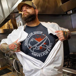 Knives are for a Pro T-Shirt-T-Shirts-Cleaverandblade.com