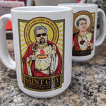 St. Guy Lord of Flavortown Coffee/Whiskey Mug-Coffee Mugs-Cleaverandblade.com