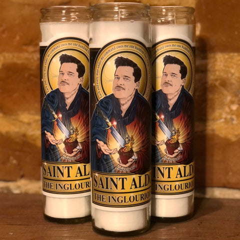 Saint Aldo Candle-Candles-Cleaverandblade.com