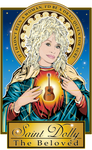 Saint Dolly The Beloved Poster-Posters-Cleaverandblade.com