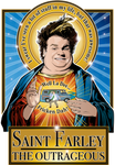 Saint Farley The Outrageous Metal Print