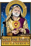 Saint Jose Andres The Generous Poster-Posters-Cleaverandblade.com