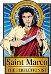 Saint Marco The Perfectionist Poster-Posters-Cleaverandblade.com