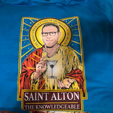 Saint Alton The Knowledgeable T-Shirt-T-Shirts-Cleaverandblade.com