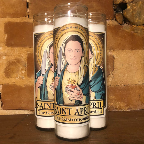 Saint April The Gastronomical Candle