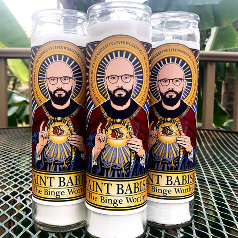 Saint Babish The Binge Worthy Candle-Candles-Cleaverandblade.com