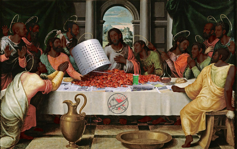 The Last Crawfish Boil-Black Jesus Poster-Posters-Cleaverandblade.com