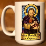 Saint David Choe Coffee Mug-Coffee Mugs-Cleaverandblade.com