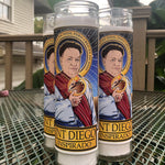 Saint Diego El Inspirado Candle-Candles-Cleaverandblade.com