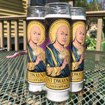 Saint Dwayne Candle-Candles-Cleaverandblade.com